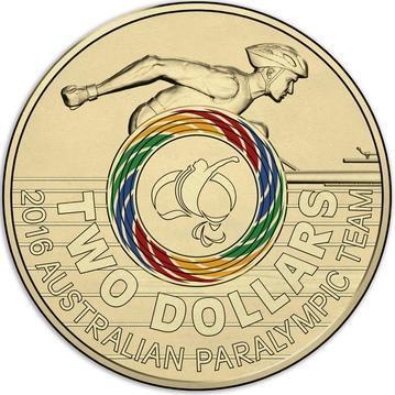 2 долара 2016 Австралія - XXXI літні Олімпійські Ігри в Ріо-де-Жанейро 2016. UNC