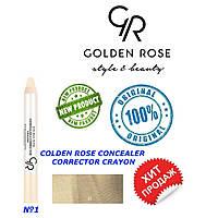 Корректор, консиллер для лица Golden Rose №1