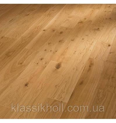 Паркетная доска MEISTER PS 300, Oak | brushed , Дуб, масло, выразительная текстура, обработанный щетками 8028, V-4 фаска по четы, фото 2