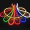 Комплект Светодиодный LED гибкий неон (5М + кабель питания) 2835\120 IP68 220V , фото 5