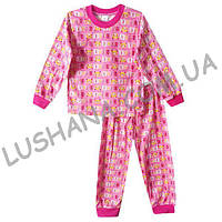 Детская пижама на манжете на рост 122-128 см - Кулир