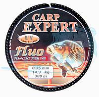 Карповая Леска Carp Expert  Fluo Orang 0,35mm  300m