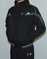 Мужской утепленный спортивный костюм Soccer 2781 плащевка+флис 