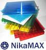 Cотовый поликарбонат ТМ «NikaMAX» 8 мм