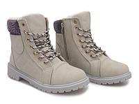Польские, зимние женские ботинки на шнуровке, на холодную погоду размеры 37,39