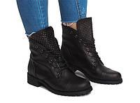 Оригинальные женские ботинки очень стильные.Хит продаж!!!