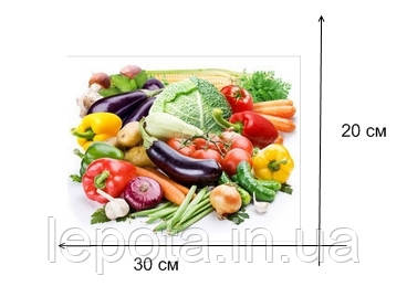 "Наклейка для ванны, туалета, кухни, холодильника ""Овощи"", фото 2"