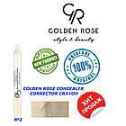 Корректор, консиллер для лица Golden Rose №2, фото 2