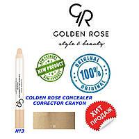 Корректор, консиллер для лица Golden Rose №3
