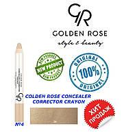 Корректор, консиллер для лица Golden Rose №4