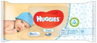 Влажные салфетки Huggies Pure   56 шт.