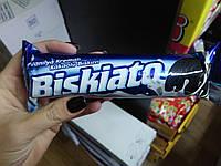 Biskiato Печенье шоколадное с ванильной начинкой