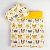 Комплект в коляску детский BabySoon Лесные жители одеяло 65 х 75 см подушка 22 х 26 см оранжевый (111)