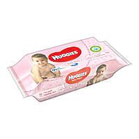 Влажные салфетки Huggies Soft Skin   56 шт.