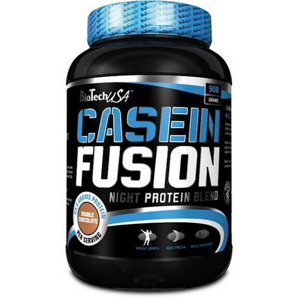 Протеин BioTech Casein Fusion 908 г, фото 2