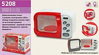 Микроволновая печь детская со звуковыми эффектами 5208