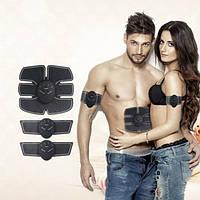Миостимулятор Тренажер 6 pack EMS + 2 стимулятора для рук / ног купить в Украине (весь комплект)