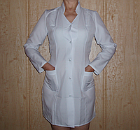 Медицинский халат женский р.р 42-50 ( габардин )