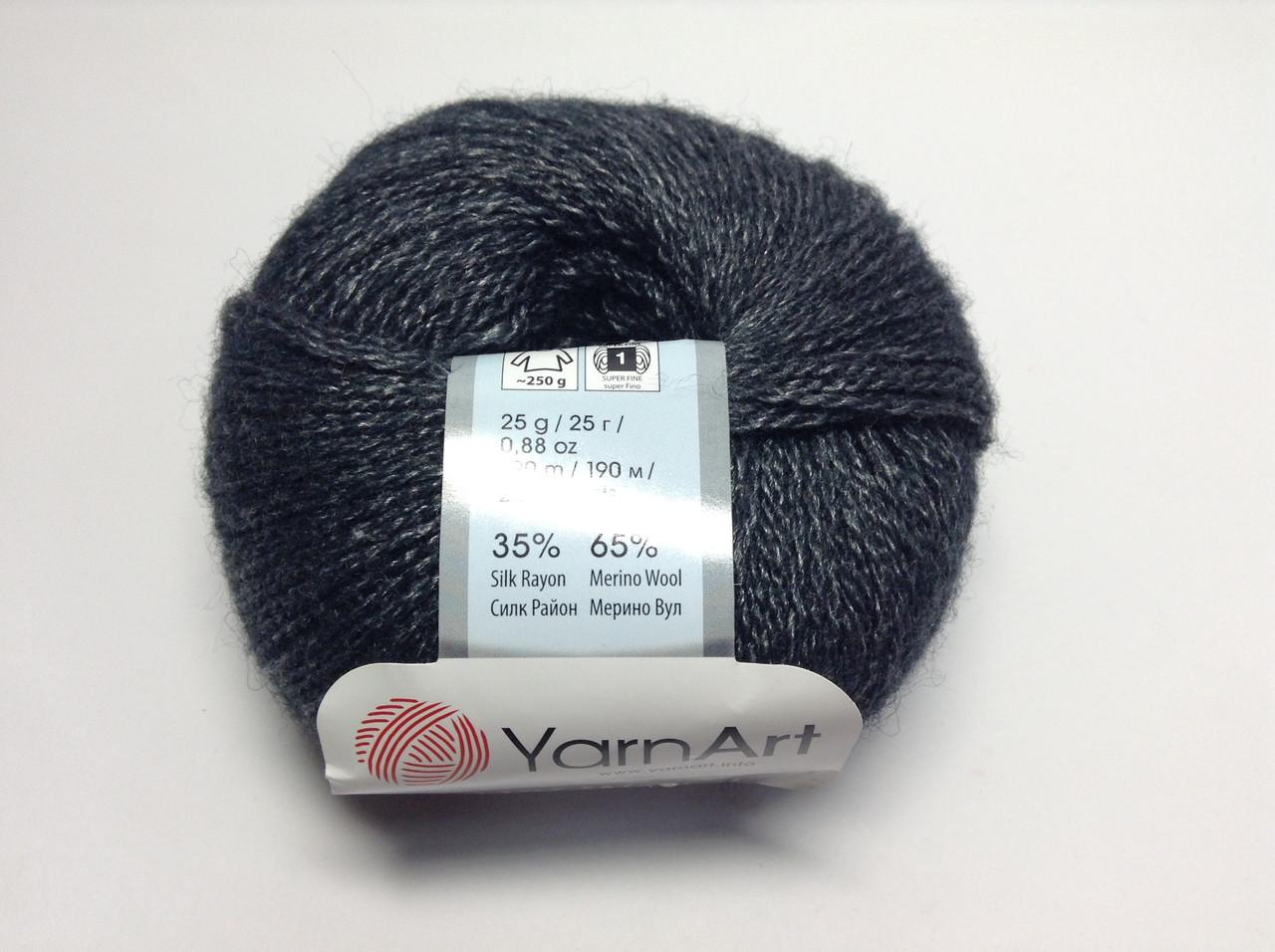 Пряжа silky wool YarnArt (шелк,шерсть)