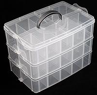 Органайзер для хранения 3 яруса 30 ячеек, 31х24х18см