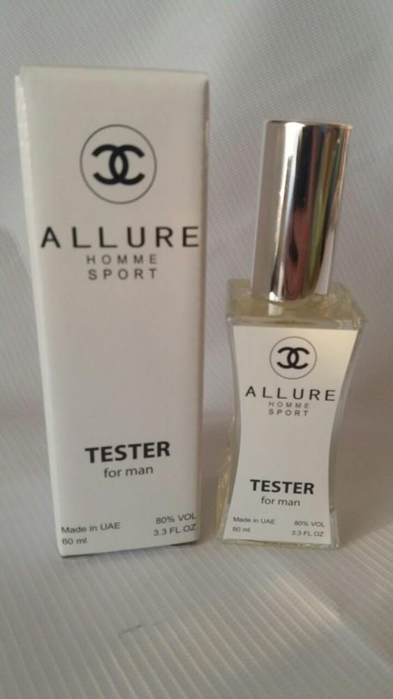 Мужской Тестер - Chanel Allure Homme Sport - 60 мл