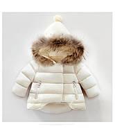 Куртка Очарование (бел)  100,110,120,130