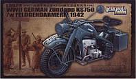 Немецкий мотоцикл Цундап  KS 750