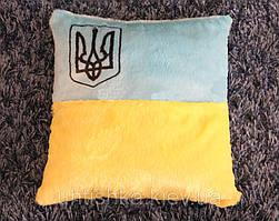 Светящаяся подушка Флаг и Герб Украины