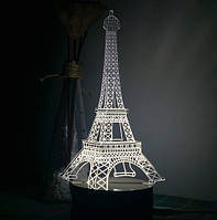 Светильник 3D Эйфелева башня
