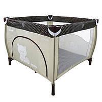 Манеж кровать детский Carrello GRANDE CRL-7401 BEIGE