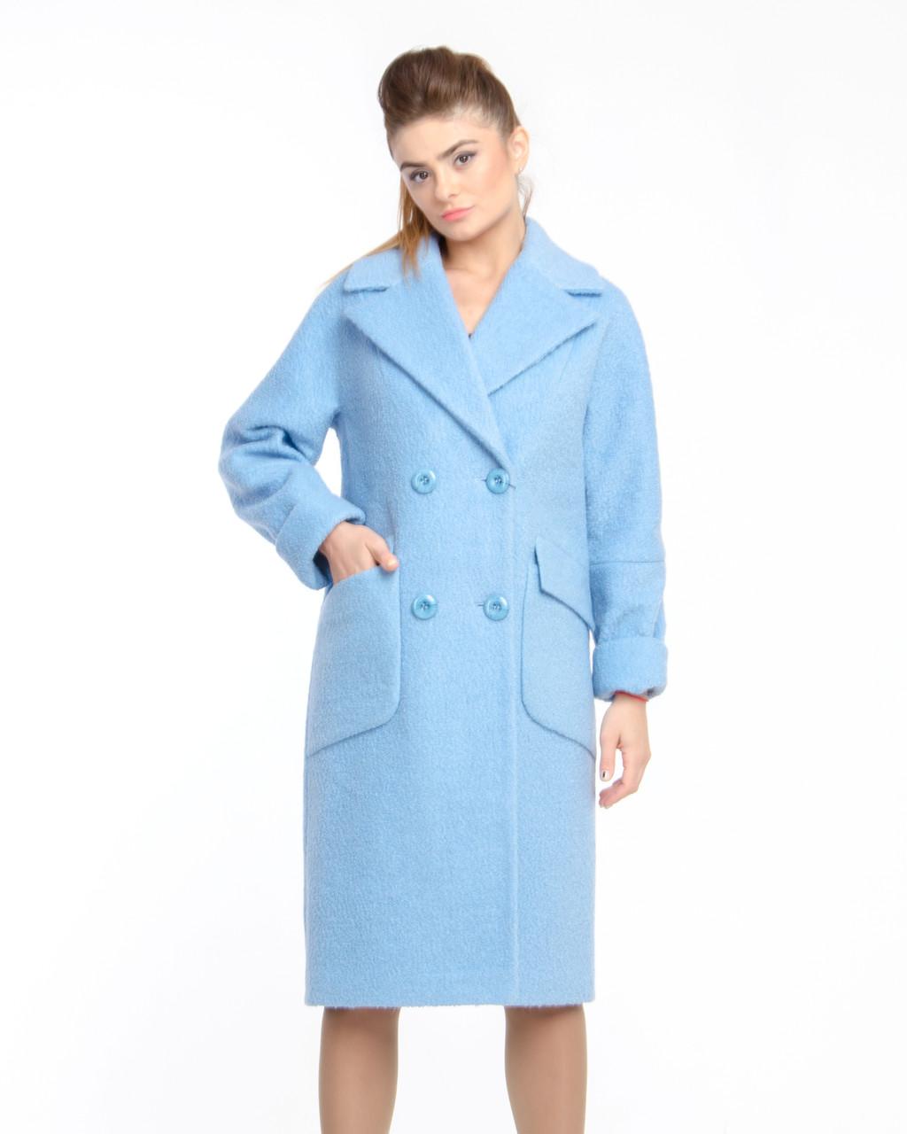 836bb69dda6 Женское демисезонное Пальто букле М-1278-1  продажа