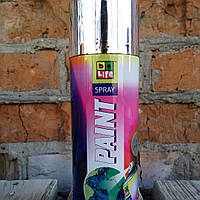 Аэрозольная краска эмаль с эффектом хрома  BeLife Chrome