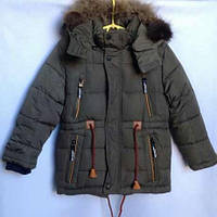 Зима 2018! Зимняя куртка парка для мальчиков 5-9 лет, фото 1