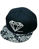 Кепка снепбек Diamond (Диамант) с прямым козырьком Синий