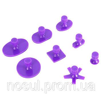PDR GT-8P грибки клеевые набор сменных насадок для инструмента 8 штук (фиолетовые)