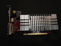 ВИДЕОКАРТА Pci-E RADEON HD 3450 на 256 MB с HDMI и ГАРАНТИЕЙ ( видеоадаптер HD3450 256mb  )