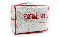 Сетка для футбольных ворот 7,4 на 2,5 м. C-5002 (2 шт.)