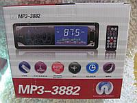 Автомагнитола сенсорная магнитола MP3-3882 ISO - MP3 Player, FM, USB, SD, AUX