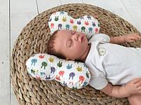Подушка-позиционер для новорожденного Бабочка
