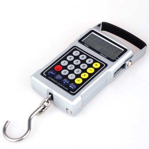 Кантерные электронные весы 50кг термометр 7 в 1 калькулятор рулетка SR1514