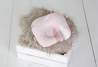 Подушка для новорожденного Перышки