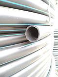 Труба полиэтиленовая  50 мм 10 атм черно синяя, фото 3
