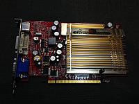 ВИДЕОКАРТА Pci-E Nvdia GeForce 6600 на 256 MB с ГАРАНТИЕЙ ( видеоадаптер 6600 256mb  )