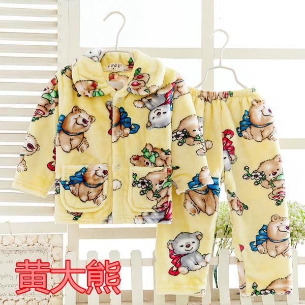 Пижама трикотажная махровая Зверушки