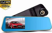 """Регистратор зеркало DVR T1 с камерой заднего вида и GPS входом  Экран 4,3"""" Акция !!!"""
