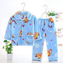 Пижама трикотажная махровая Коты, фото 3