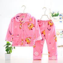 Пижама трикотажная махровая Коты, фото 2