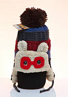 Зимняя шапка Kitti для  мальчика 4-12 лет