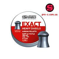 Пули для пневматики JSB Diabolo EXACT 4,52 mm 0,547 г 500 шт.