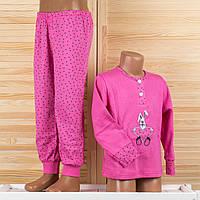 Детская пижама на девочку из турецкого хлопка. Moral 804 2/3. Размер на 2/3 года.